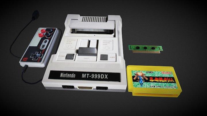Nintendo MT-999 DX 3D  model 3D Model