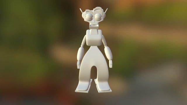 Robotguy 3D Model