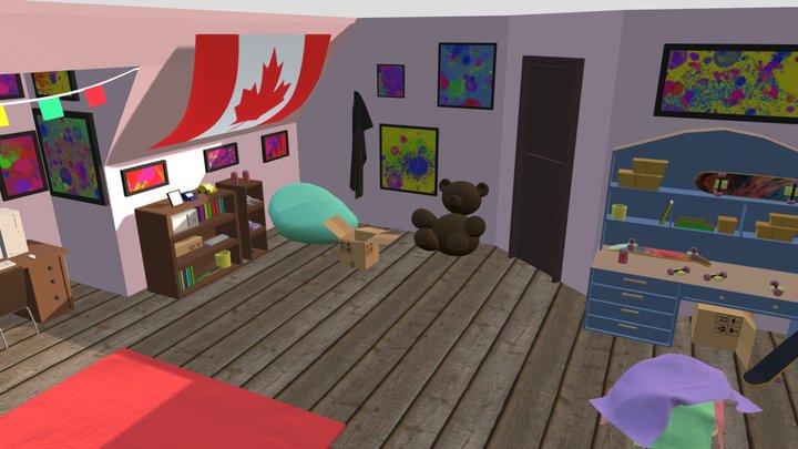 Esenario Interior 3D Model