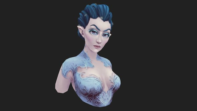 Ice Nymph 3D Model