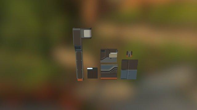 Elementos Hangar 3D Model