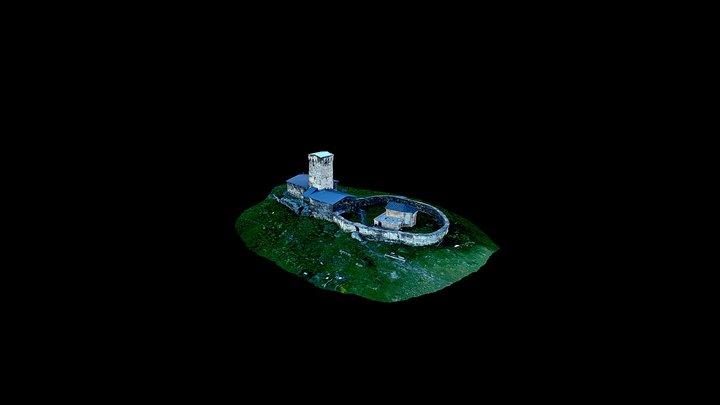Church of the Virgin 3D Model
