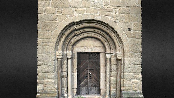 Portalul bisericii reformate din Cricău 3D Model