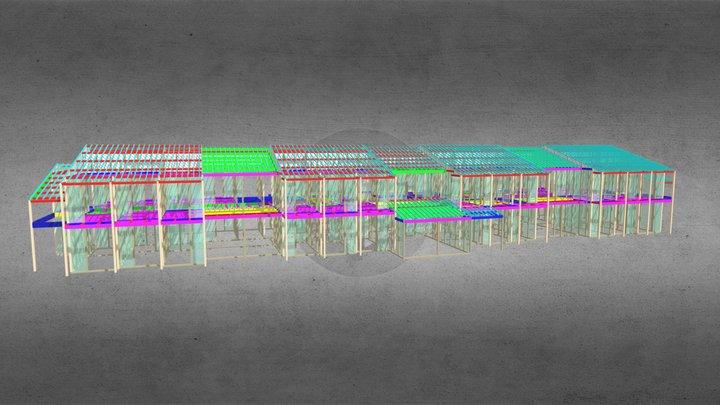 2020cslw 施設(滋賀)b.i.n木村敏建築設計事務所 3D Model