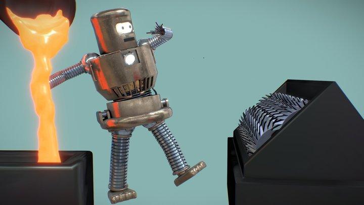 Robot / Day 1 3D Model