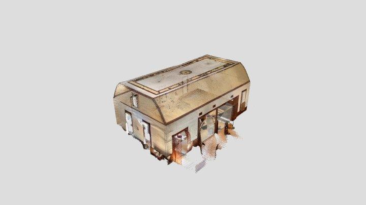 Church Main Hall - SiteScape 3D Scan 3D Model