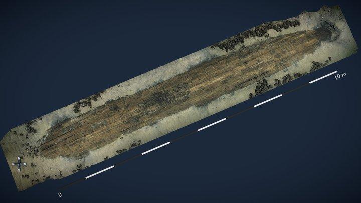 Shipwreck Fpl_162 3D Model