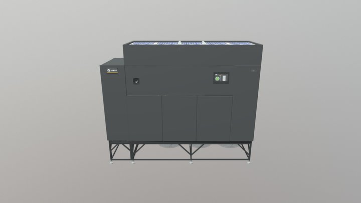Liebert DSE Free Cooling System, 50-250kW 3D Model