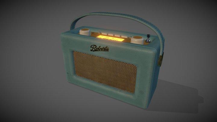Roberts Radio 3D Model