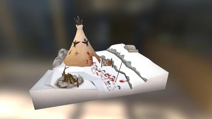 Snowy_Scene_Final 3D Model