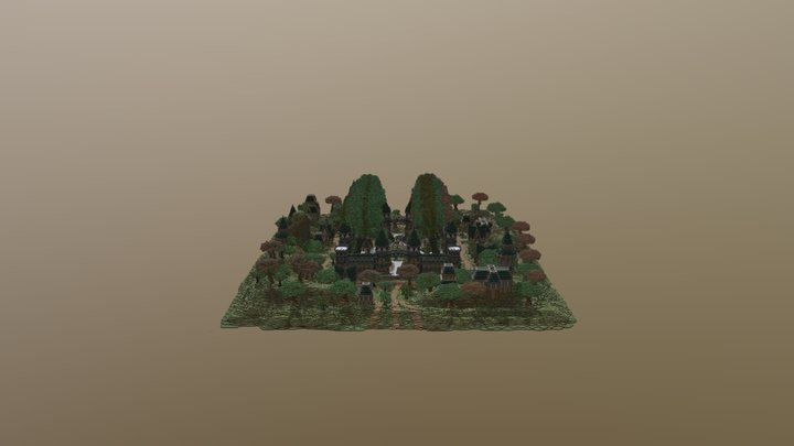 Woodland Factions Spawn 3D Model