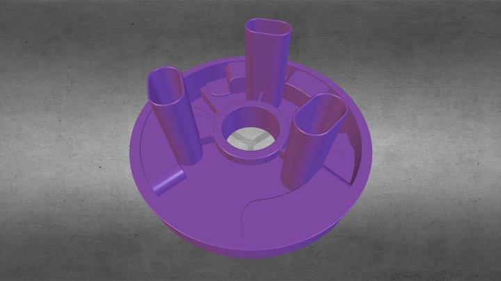 Chuveiro - Seletor Interno 3D Model
