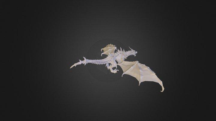 877159_Дракон 3D Model