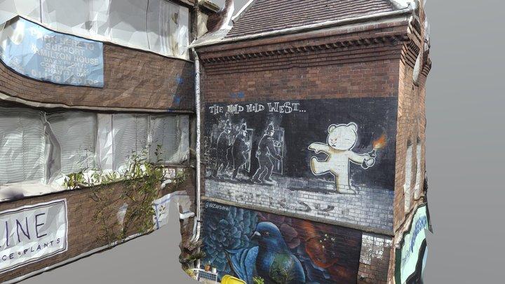 Bristol Graffiti - The Wild Wild West 3D Model