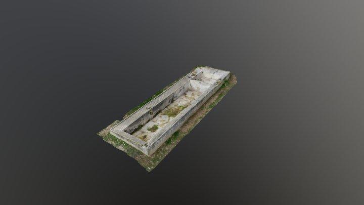 Lavadero Villar del Águila (Cuenca) 3D Model