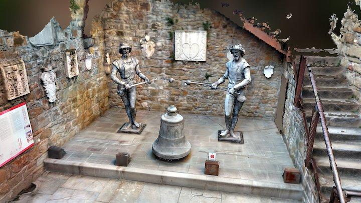 Mikeze e Jakeze - Castello Di S Giusto - Trieste 3D Model