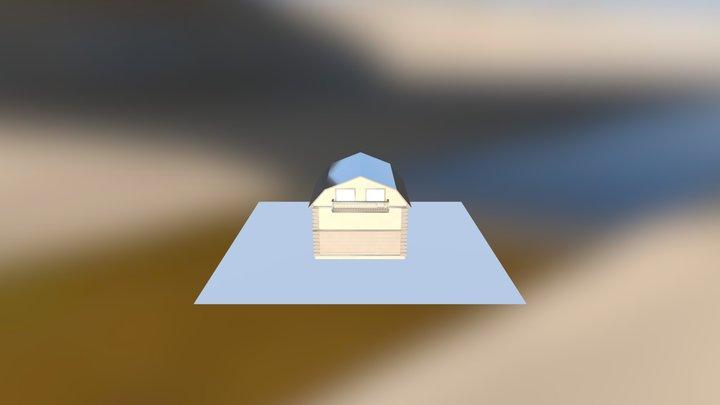 house (roman) 3D Model