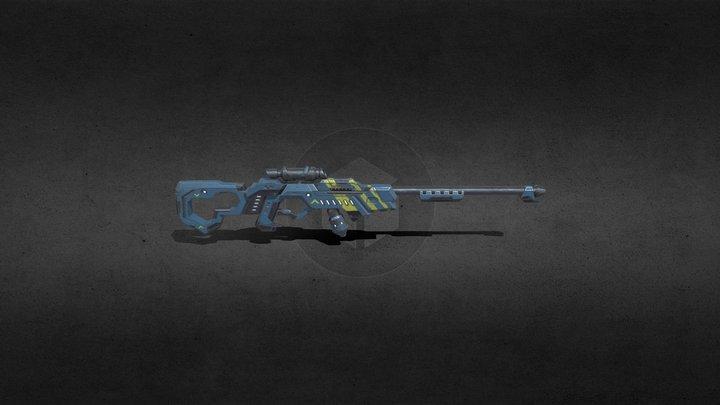 Science Fiction Game Assets 3D Model