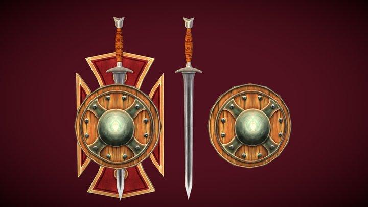 Swordnshield 3D Model
