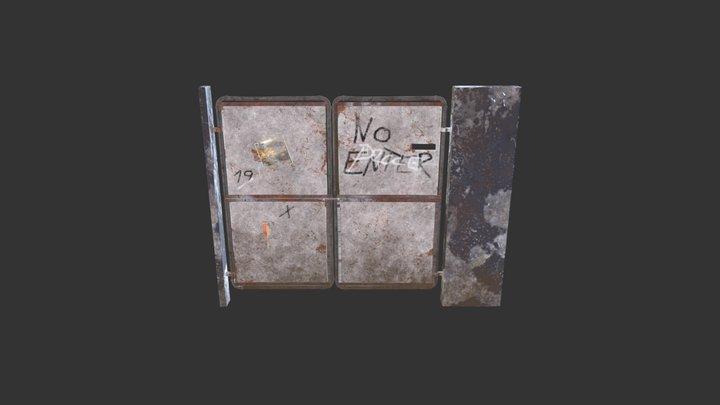 Slum doors 3D Model