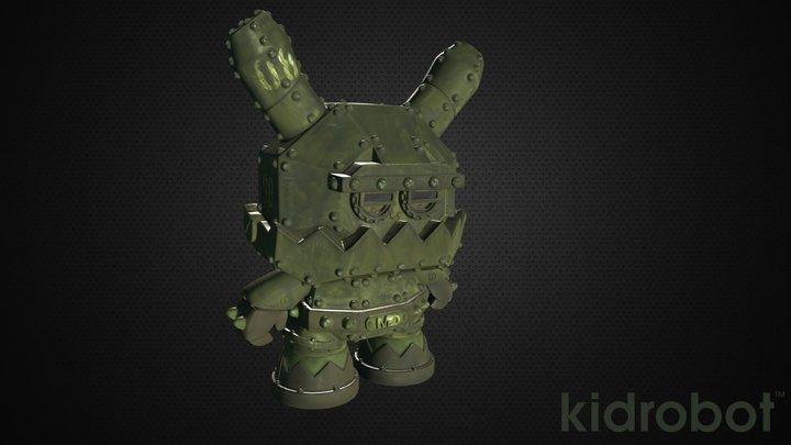 Frank Kozik - Mecha Dunny MDA1: Tactical Assault 3D Model