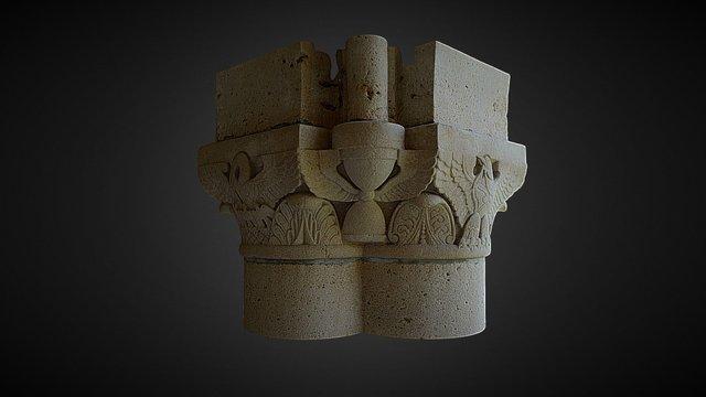 Column Capital Type 2 3D Model