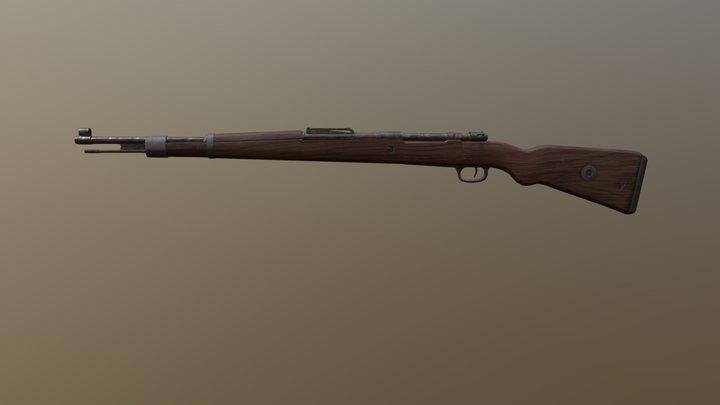 Weapon - K98 3D Model