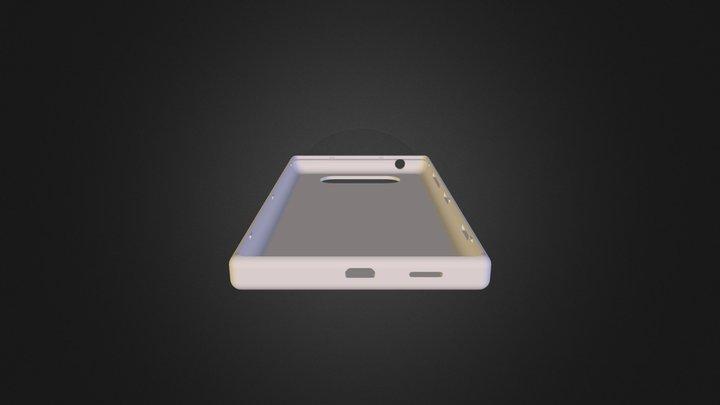 Lumia820 Nokia Shell 3D Model