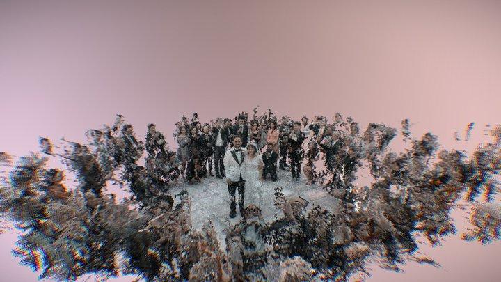 Collaborative Wedding Hologram 3D Model
