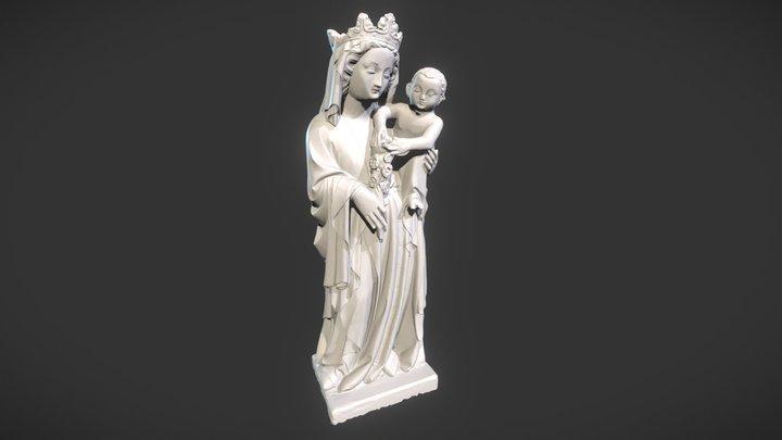 Virgin and Child 3D Model