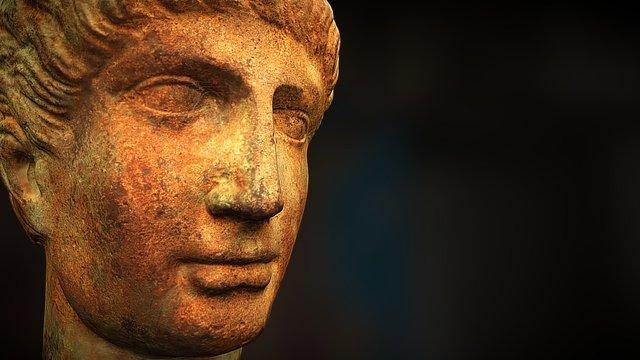 Etruscan Head - 3d Model - Horus Dynamics 3D Model