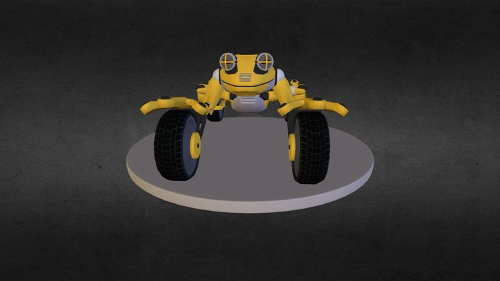 Frog-Cycle 3D Model