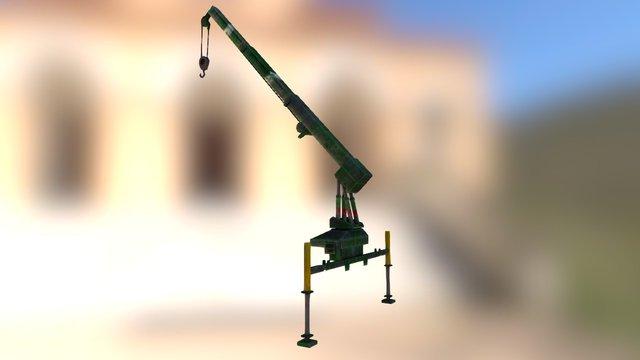Free Machine Hanger 3D Model