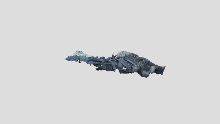 Wreck 4 Gothenburg 3D Model