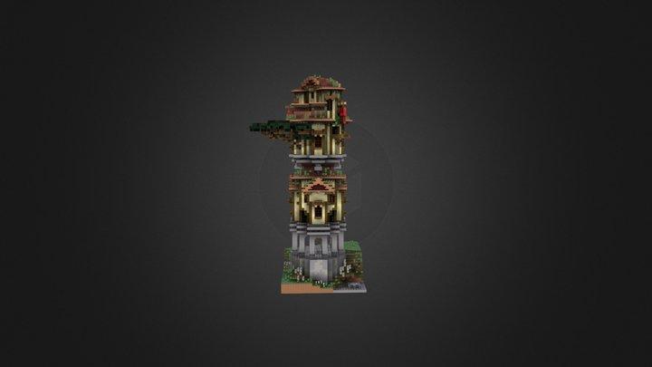 Interesting tower 3D Model