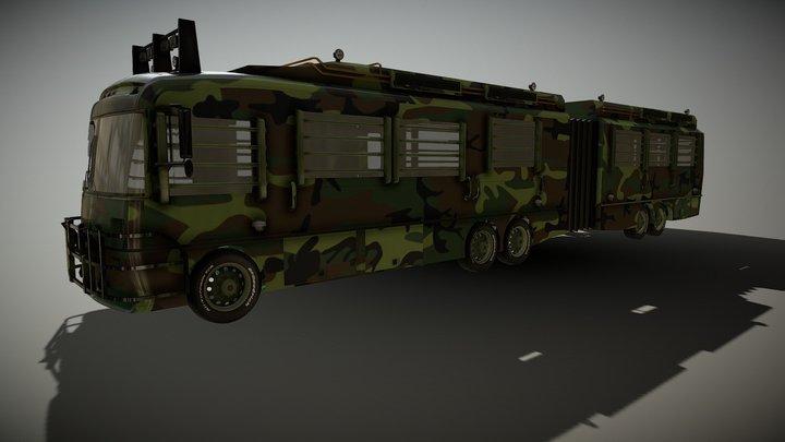 Jurassic Park II Fleetwood RV Prototype 3D Model