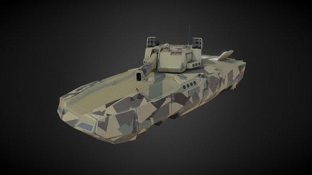 Hover IFV (PBR) 3D Model