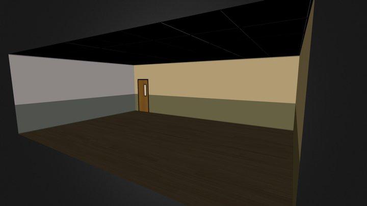 Classroom Interior 3D Model