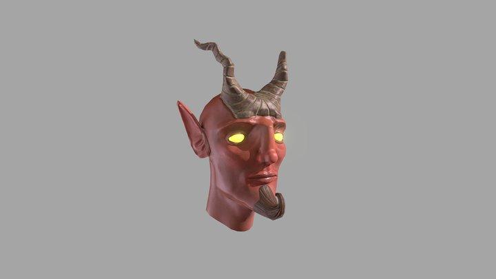 Demonhead reedit 3D Model