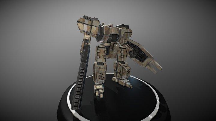 Kyojun 3D Model