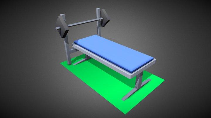 Exercise Equipment #HouseholdPropsChallenge 3D Model