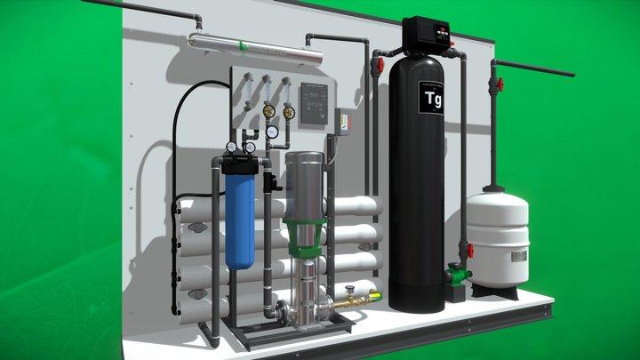 Water Treatment - totalgrowcontrol.com 7200 gal 3D Model