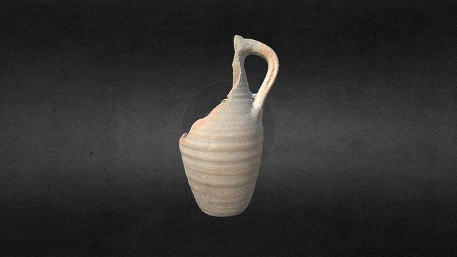 Bottiglia ceramica comune 3D Model