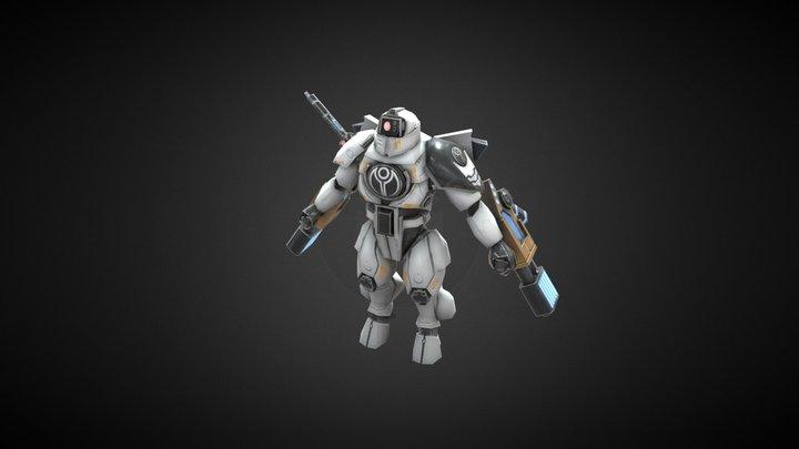Commander Shadowsun 3D Model