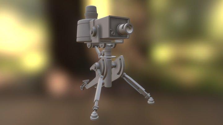 TF2mini Sentry 3D Model