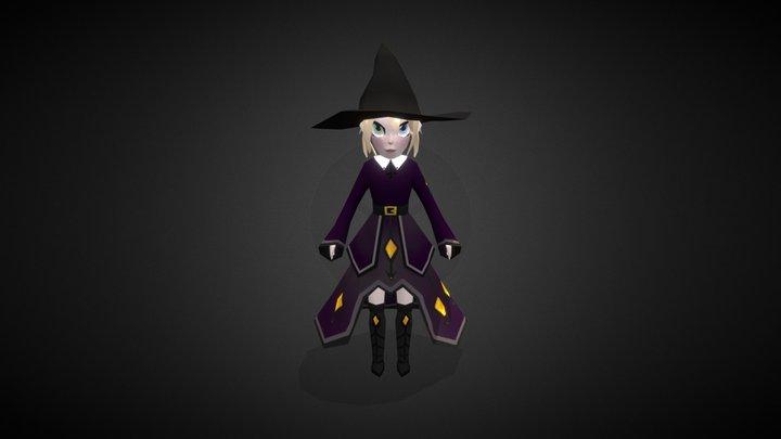 Witch Chibi - Ashe Bosworth 3D Model