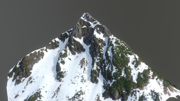 Mt Verstovia / Arrowhead 3D Model