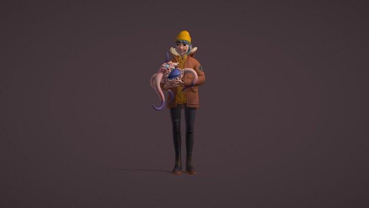 My Freak Friend 3D Model