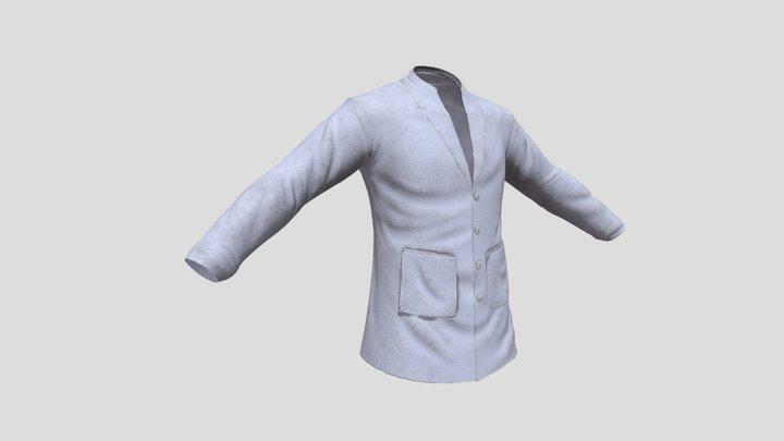 Labcoat 3D Model