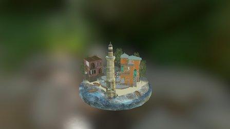 CityScene Paulien Casteleyn 3D Model